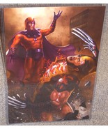 X-Men Magneto vs Wolverine Glossy Print 11 x 17 In Hard Plastic Sleeve - $24.99