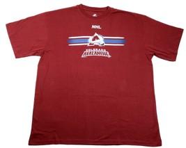 Colorado Avalanche Shirt Men's NHL Hockey Tee Home Color Big & Tall