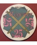 $25 Casino Chip, Regency, Bell, CA. G61. - $4.80