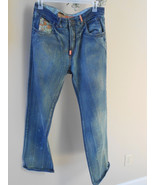 Lr Geans by L R G Roots and Equipment ROOTS OVERDOSE Destressed Mens Jeans - $36.75