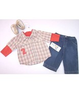 NWT b.t. kids Boy's 5 Pc Play Outfit, 2 Shirts,... - $17.48