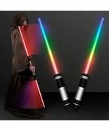 2PCS Laser Lightsaber Toys Cosplay Laser Sword Toys Sabre Laser Sword Li... - £12.34 GBP