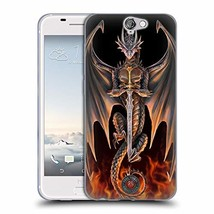 Official Anne Stokes Warrior Dragons 4 Soft Gel Case Compatible for HTC ... - $26.42