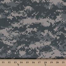 Twill Lite Digital Army Desert Camouflage Green Fabric Print by the Yard D910.02 - $8.99