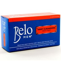 Belo Men DEEP CLEANSING Body Bar Soap, Moisturi... - $6.99