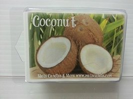 Coconut 3.2 Ounce Wax Tarts - Scent Brick, Wickless Candle - $2.99