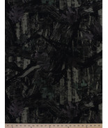 Elementree Canvas Hunter Camouflage Leaves Tree Camo Canvas Fabric BTY D913.02 - $9.95