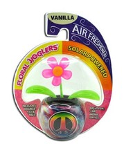 All-In-One Solar Dancing Flower w/Air Freshener -  1 Item w/Random Color/Design
