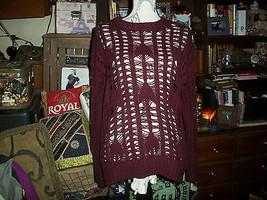 Anthropologie Heartloom  Poppin Magenta Knited Boatneck Sweater Size Sp - $17.82
