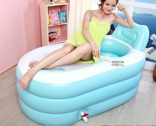 new fashion adult spa inflatable bath tub with air pump e1125165022646385m. Black Bedroom Furniture Sets. Home Design Ideas