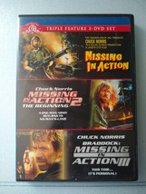 Chuck Norris Missing in Action Triple Feature 3 DVD Set  - $8.49