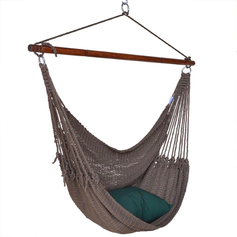 Portable Hammock Hanging Chair Caribbean 55 Porch Patio