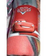 Disney Pixar Cars Lightning McQueen Fleece Throw 46 x 60 NEW - $12.00