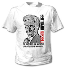 BERTRAND RUSSELL - NEW WHITE COTTON TSHIRT - $24.02