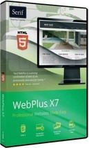 NEW Webplus x7 pro website builder Original RRP... - $32.27