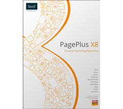 NEW Serif PagePlus X8 RRP £89.99 only (£21) Pos... - $26.06
