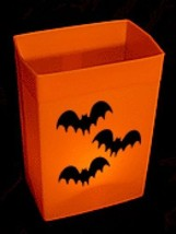 ORANGE LUMINARY ELECTRIC BOX LIGHT SET - 1 SET - HALLOWEEN - €75,55 EUR