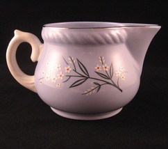 Homer Laughlin Creamer Kraft-Blue #T41 Creamer Pitcher Pottery Made in USA - $38.30