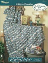 Needlecraft Shop Crochet Pattern 962350 Rippling Yo Yos Afghan Collector... - $4.99