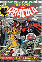 The Tomb of Dracula Comic Book #8, Marvel Comics 1973 VERY FINE - $37.65