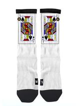Custom J of Spades Socks ALL Sizes FAST SHIPPING - $12.99