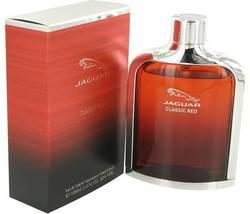 Jaguar Classic Red Cologne  By Jaguar for Men 3.4 oz Eau De Toilette Spray - $19.95
