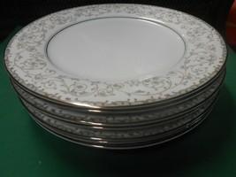 Beautiful Noritake Fine China Oxford Set Of 7 Dinner Plates - $55.03