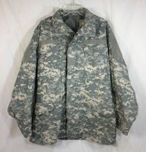 US Army Cold Weather Field Coat Jacket ACU Universal Pattern Camo (Med-Reg) NEW - $41.79