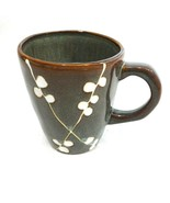 Oneida Cherry Blossom Mug Cup Green Brown Replacement Discontinued 4.5 i... - $9.89