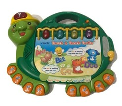 Vtech Touch and Teach Turtle Learning Phonics Numbers Reading Story Book - $13.58