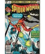 Spider-Woman #21 (1979) *Bronze Age / Marvel Comics / Bounty Hunter / St... - $4.00