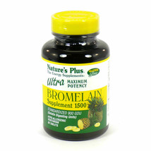 Nature's Plus Bromelain Supplement 1500, Ultra Maximum Potency - $29.65
