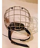 Bauer Hockey Helmet Cage Mask True Vision I FM2100 Jr/Jr with Chinstrap ... - $15.83
