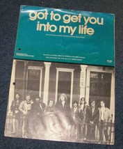 Got To Get You Into My Life Beatles Lennon Mccartney sheet music - $14.99