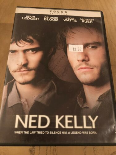 Ned  Kelly -  Heath ledger - (DVD) Special Buy 3 Get 4th Movie Free !!