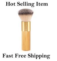 TARTE Brush The Buffer Airbrush Finish Bamboo FOUNDATION Makeup Brush - $12.99
