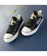 New Orleans Saints shoes Saints sneakers Fashion Christmas gift birthday... - $55.00+