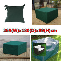 269x180x89cm Waterproof Garden Outdoor Furniture Dust Cover Table Shelter - $44.26
