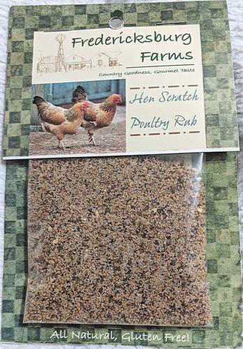 Fredericksburg Farms All Natural Gluten Free Hen Scratch Poultry Rub