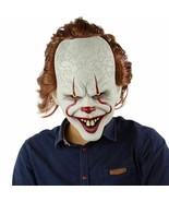 Máscara Halloween Pennywise Payaso malo  látex  adultos máscara de Horro... - $29.99