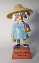 Biddys Figurine 2004 Play in the Dirt  # 4506 Westland bobble head garde... - $21.77