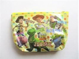 Disney Pixar TOY STORY Woody, Buzz, Jesse, Rex, Ham Cosmetic / Makeup Pouch - $8.55