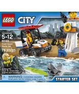 LEGO City Coast Guard Coast Guard Starter Set 60163 Building Kit (76 Pie... - $19.99