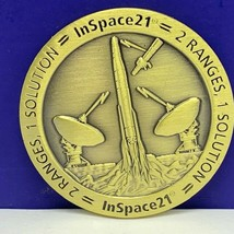 Honeywell inspace21 challenge coin nasa space 21 rocket ship ranges solu... - $19.60