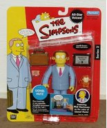 LIONEL HUTZ The Simpsons All-Star Voices * PHIL HARTMAN * Series 2 World... - $32.18