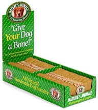 Nature's Animals Original Bakery Biscuits, All Natural Dog Treats, 24 Count