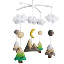 Creative Hanging Toys, [Primary Forest, at Night] Wind-up Musical Box - $58.45