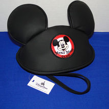 Disney Parks Mickey Mouse Club Hat with Ears Wristlet image 7