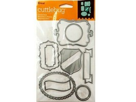 Cricut Cuttlebug Labels and Such Die Set #2002344
