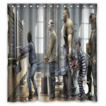 Funny Robber Shower Curtain Waterproof Made From Polyester - $29.07+